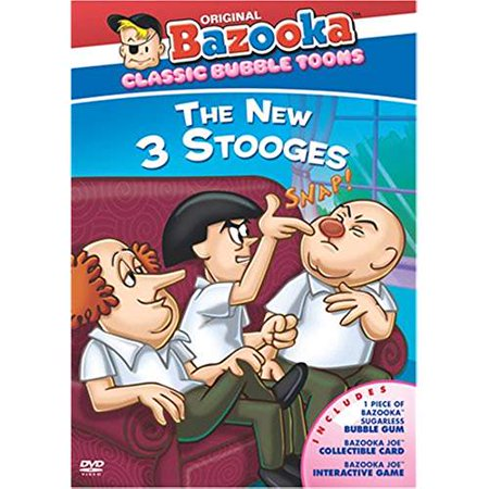 BAZOOKA CLASSIC CARTOONS: THE NEW 3 STOOGES(DVD) - image 1 de 1