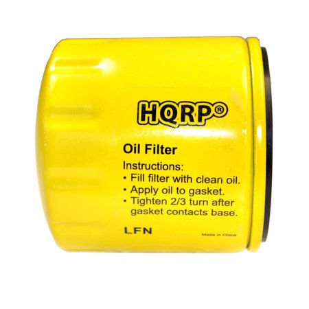 HQRP Oil Filter for BRIGGS & STRATTON 491056 / 4153 Replacement fits All Vanguard & Twin Cylinder Engines + HQRP Coaster ()