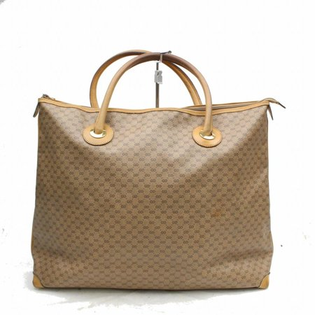 791c2c41a0bd gucci - gucci Monogram Gg Large Tote 868957 Beige Coated Canvas ...