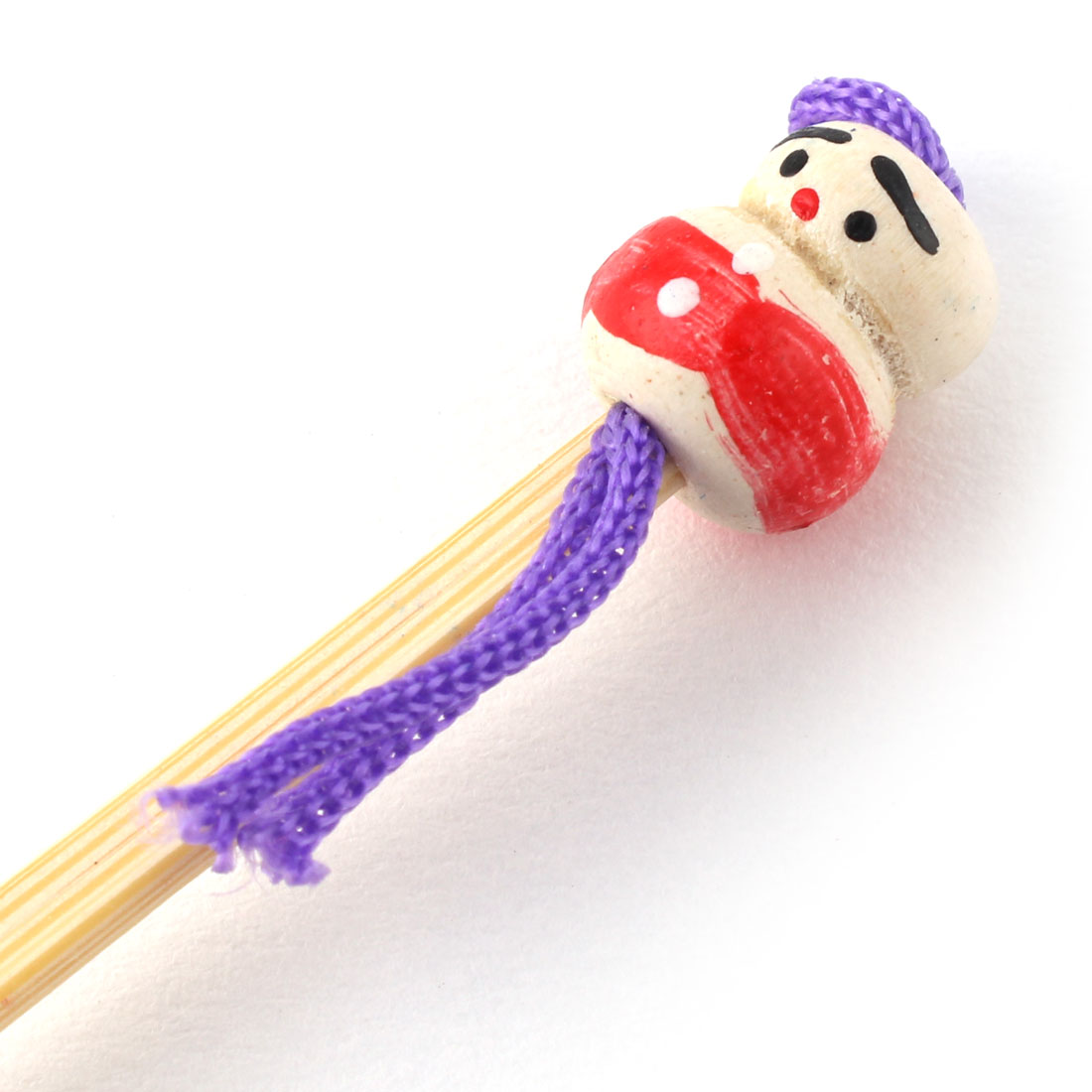 Household Bamboo Japanese Doll Decor Ear Pick Earwax Remove Beige 20 Pcs - image 1 of 4