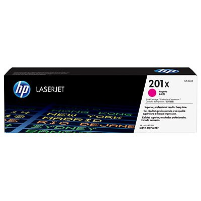 HP 201X High Yield Magenta Original LaserJet Toner Cartridge (Hp Laserjet Magenta Toner)