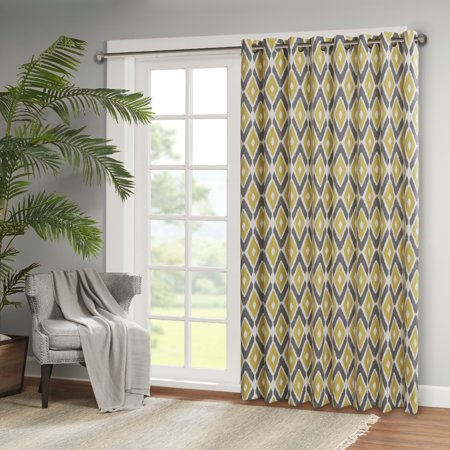 Home Essence Ender Diamond Printed Patio Panel