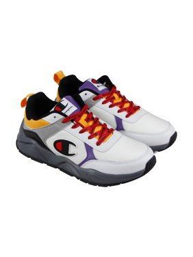 ee2ad8a63ee Product Image Champion 93 Eighteen Mens White Textile Athletic Lace Up  Training Shoes