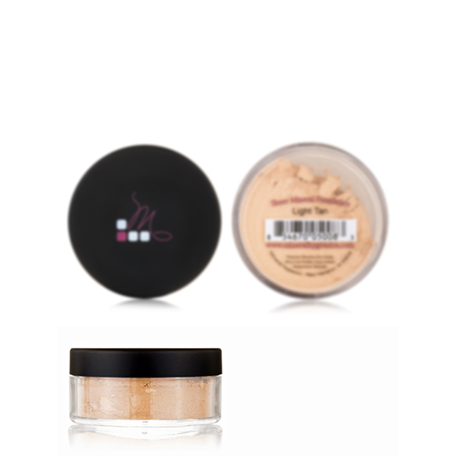Sheer Mineral Foundation - Light Tan - 40 Grams by Mineral Hygienics