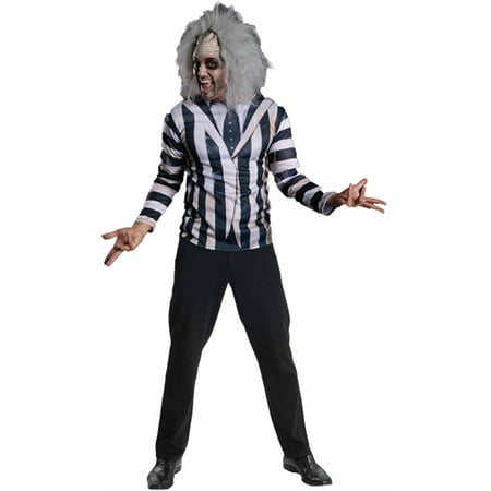 Beetle Halloween Costumes (Beetle Juice T-Shirt Men's Adult Halloween Dress Up / Role Play)