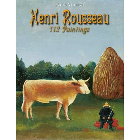 Henri Rousseau: 112 Paintings - -