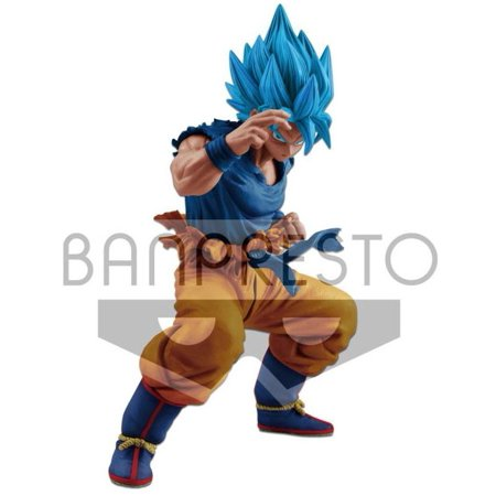 Dragon Ball Masterlise Super Saiyan Blue Son Goku Collectible PVC Figure