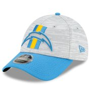 Los Angeles Chargers New Era Youth 2021 NFL Training Camp Official 9FORTY Adjustable Hat - Gray/Blue - OSFA