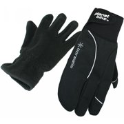 Planet Bike 9004-Large Borealis Wnter Gloves Inner Liner Black Large