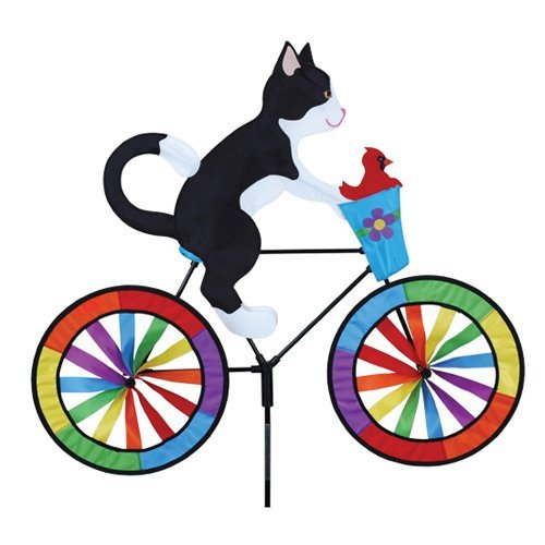 Premier Designs Tuxedo Cat Bicycle Spinner