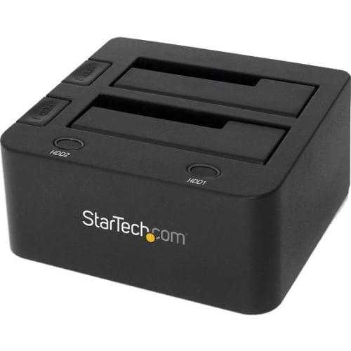 StarTech SDOCK2U33 USB 3.0 Dual SATA HDD/SSD Dock with UASP