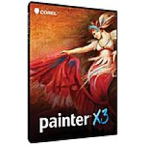 Corel Painter X3 - Version Upgrade Package - 1 User - Image (Refurbished)