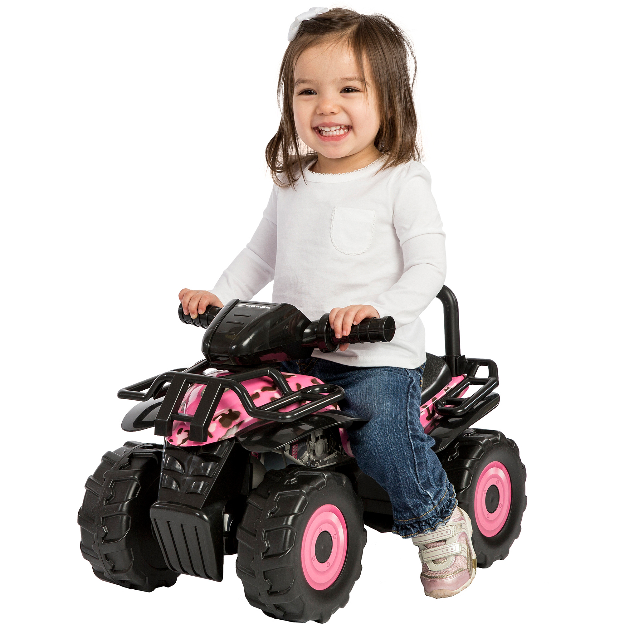 Honda Utility ATV Ride-On, Pink Camo