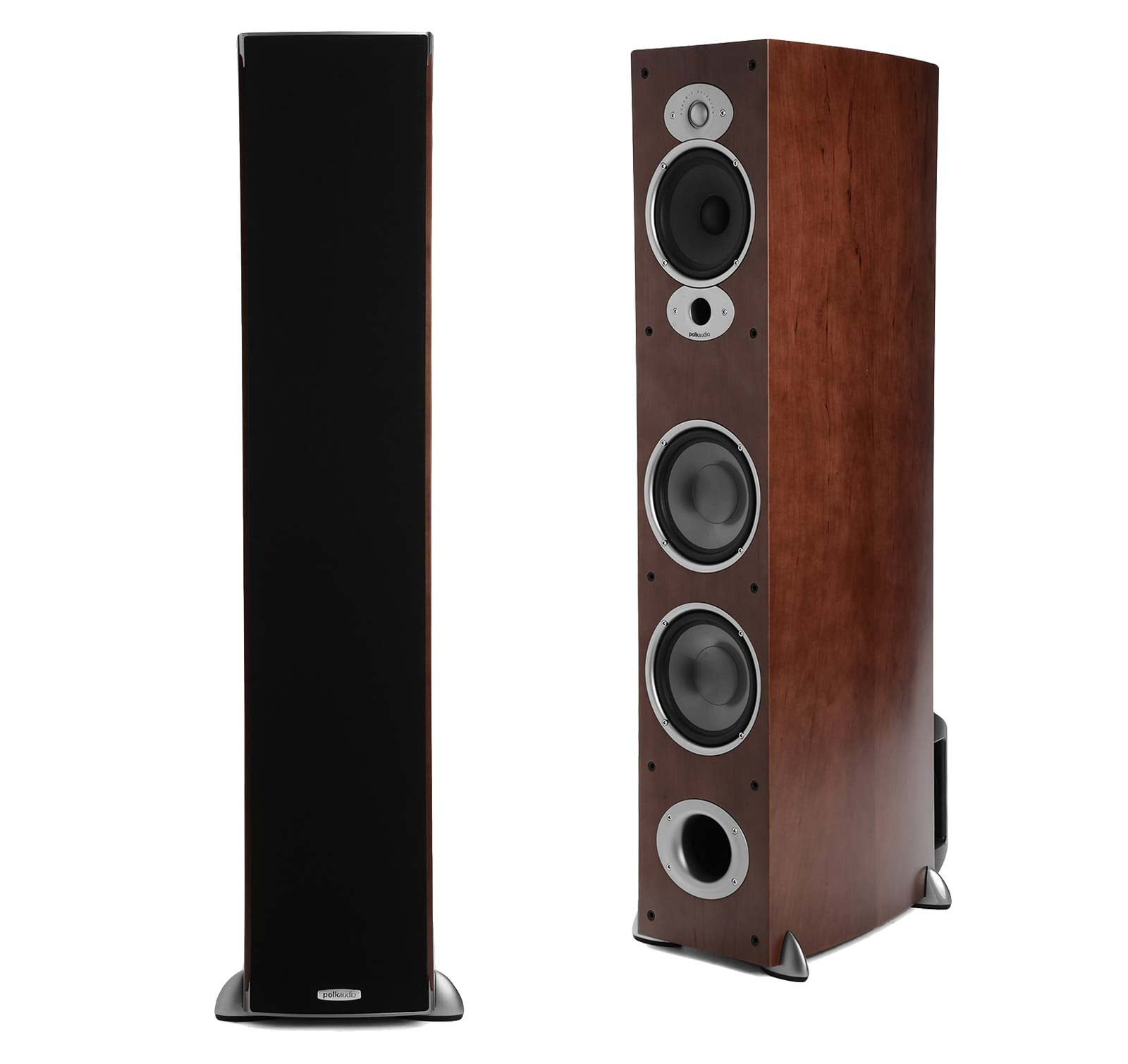 Polk Audio RTiA7 Cherry (Pair) 3-Way Tower Loudspeakers by Polk Audio