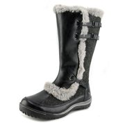 Jambu Arctic-Vegan Women  Round Toe Synthetic Black Winter Boot