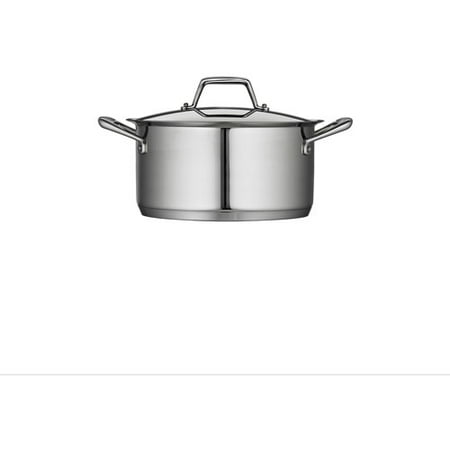 Tramontina Gourmet Prima 6-Quart Covered Sauce Pot with Tri-Ply Base