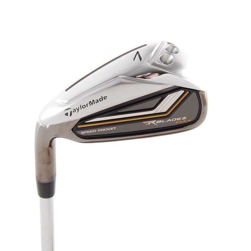 New TaylorMade RocketBladez Max 7-Iron FST Uniflex Steel LEFT HANDED RocketBladez Max