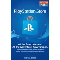 $100 PlayStation Store Gift Card [Digital Download]