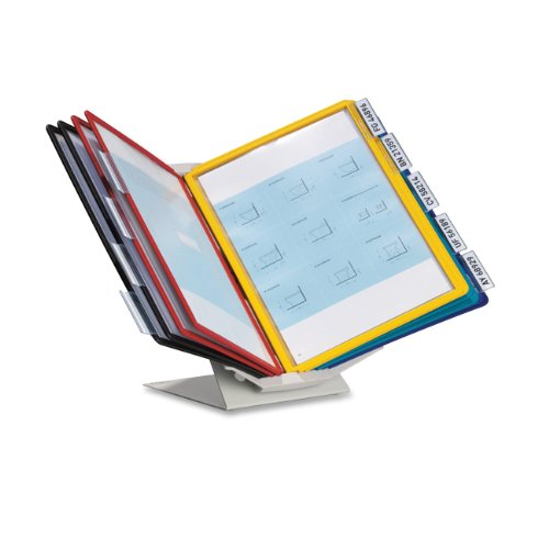 Durable Sherpa Vario Pro Display Reference System - 10 Panels - 20 Sheet[s]/panel - Letter Size - 1 Each - Assorted (DBL551500)