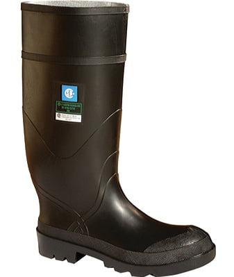 baffin men's express st work boot,black,9 m us