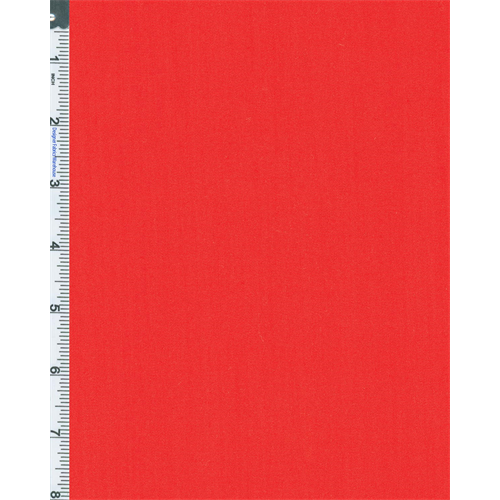 Tomato Red Twill, Fabric By the Yard