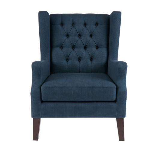 Alcott Hill Fredonia Button Tufted Wingback Chair