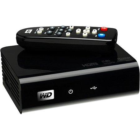 WD TV WDBABF0000NBK - Digital AV player