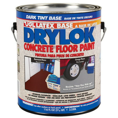 UGL 116 Oz. Dark Tint Base Drylok  Latex Base Concrete Floor Paint (Set of 2)