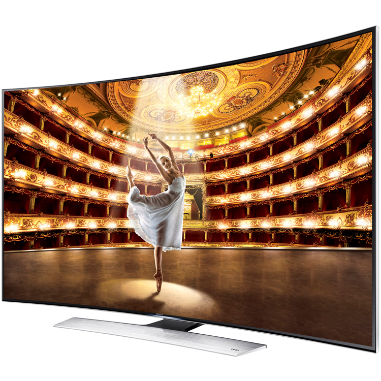 "Samsung 78"" Ultra High-Definition UHD 4K Curved 3D Smart ..."