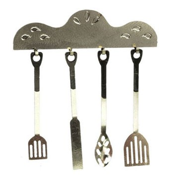 Dollhouse 1920'S Cooking Set, 5Pc