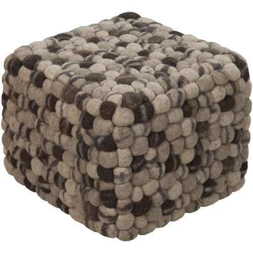 Surya POUF-14 Indoor Pouf from the Surya Poufs collection