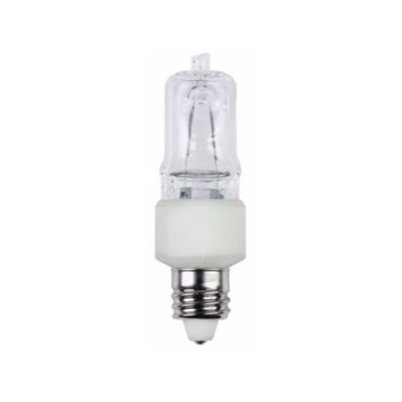 Westinghouse 0442300, 50W T4, E11 Mini-Can Base Clear 1300Hr 600LM 120V Halogen Light Bulb ()