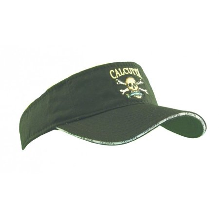 Headband Visor - Calcutta Visor Black with Headband 2530-0062