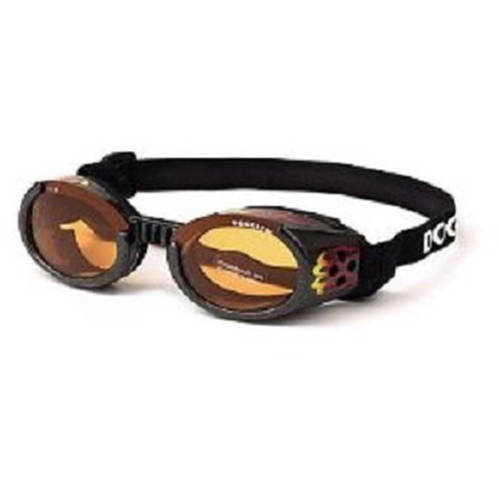 101985 Doggles, ILS Extra, Small, Racing Flames Frame, Orange Lens