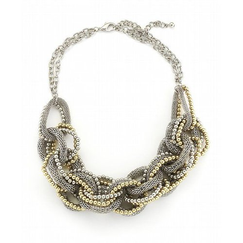 Marlenes Jewels Gold Urban Links Necklace Size: OS
