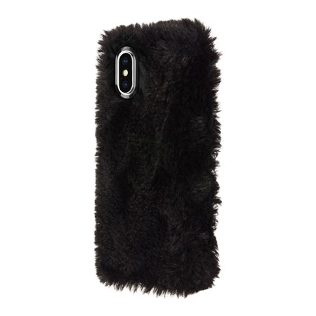 huge selection of 8a047 e40cf KENDALL + KYLIE Furry Case for iPhone X - Black