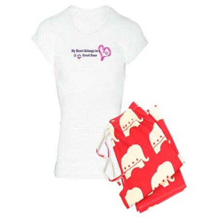 CafePress - Great Dane - Women's Light Pajamas