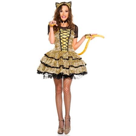 Cheeky Cheetah Costume, Sexy Cheeky Cheetah - Cheetara Costume