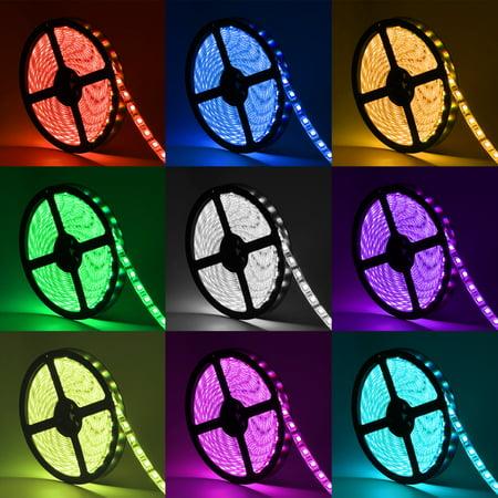 Oak leaf smd 5050 164ft rgb led strip light waterproof strip lights oak leaf smd 5050 164ft rgb led strip light waterproof strip lights with 44 key aloadofball Choice Image