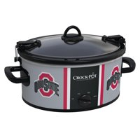 Crock-Pot 6 Quart Cook & Carry Ohio State Slow Cooker