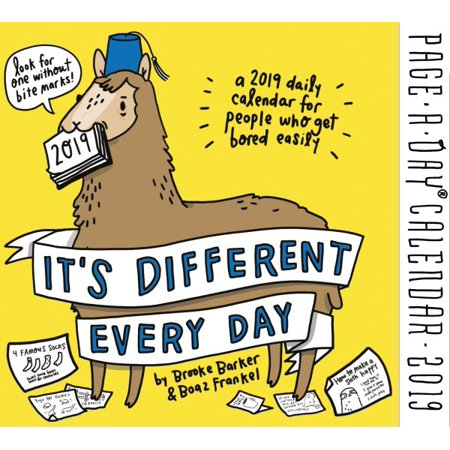 Everyday Thoughts Calendar (It's Different Every Day 2019)