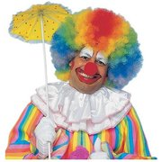 Jumbo Afro Wig Adult Costume Accessory Rainbow