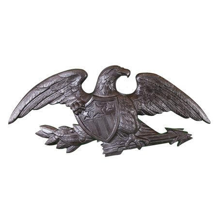 Deluxe Swedish Iron Wall Eagle - 23 in.