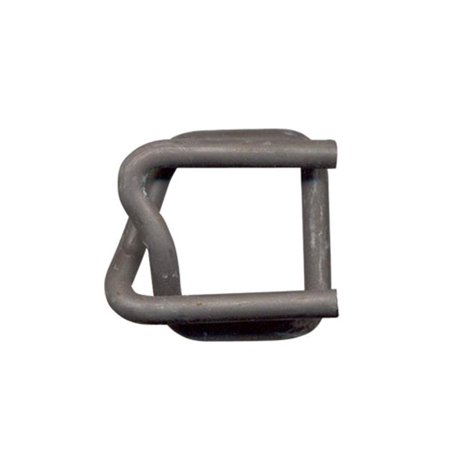 Midi Coated Buckle - Kubinec CL-19mm 0.75 in. Phosphate Coated Wire Buckles for Woven Polyester Strap , 1000 Count