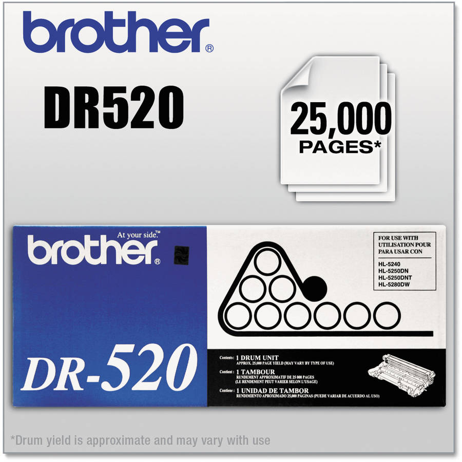 DR520-Brother Black Drum Cartridge (DR520) by Brother