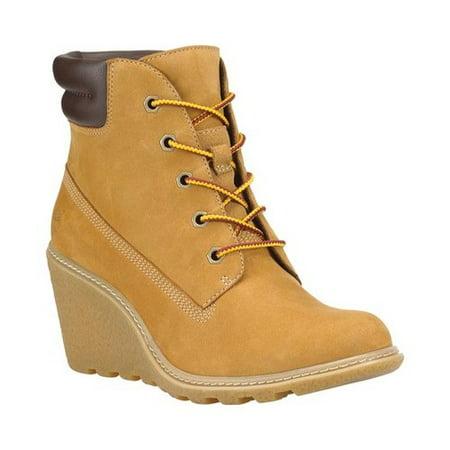Timberland - Timberland Amston 6-Inch Wheat Nubuck Women s Wedge Boots  8251A - Walmart.com 542f1e1b0eb