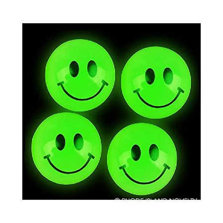 27mm Glow In Dark Smiley Face Ball With Sticky Notes Walmartcom
