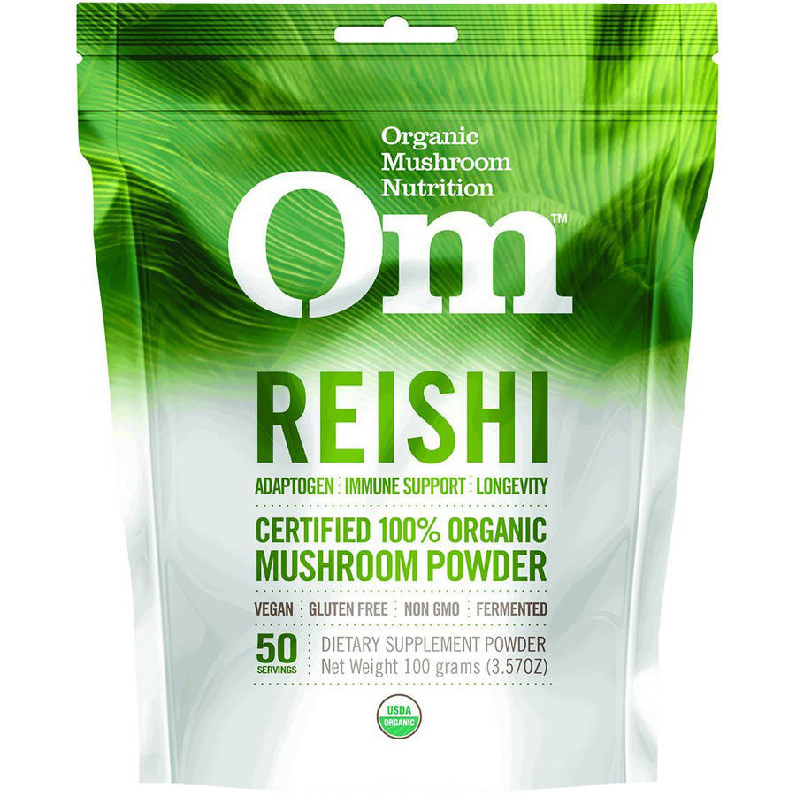 Mushroom Matrix Reishi Powder Drink Mix, Organic, 3.57 OZ
