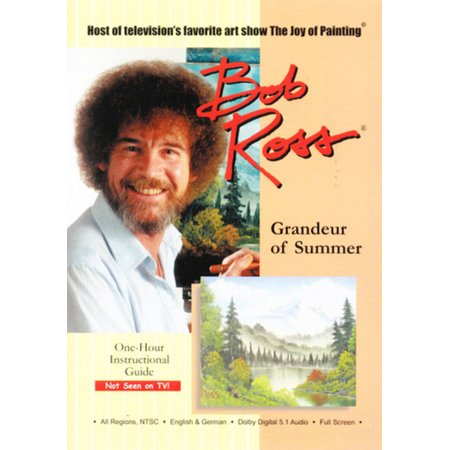 Bob Ross The Joy Of Painting Grandeur Of Summer  Dvd   Bayview Widowmaker