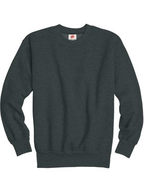 Hanes Boys 4-18 Ecosmart Fleece Crew Neck Sweatshirt
